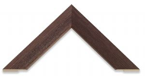 Narrow Grain Brown Picture Frame